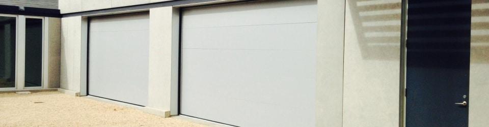 Contemporary Garage Door Installation by AJ Garage Door & Services
