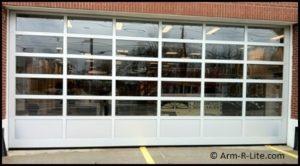 Extra wide fire station door Center Mooriches Fire