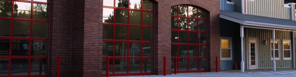 Custom firehouse door options