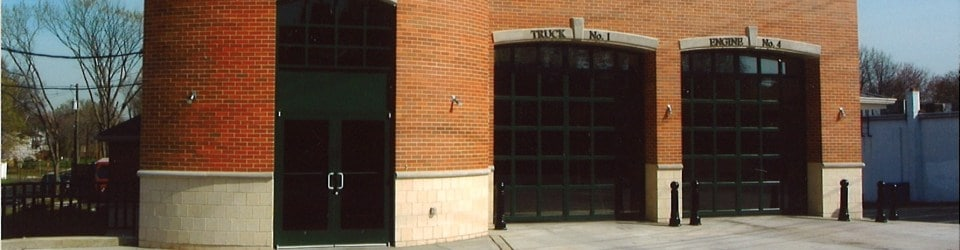 Windloaded Fire Station Garage Doors
