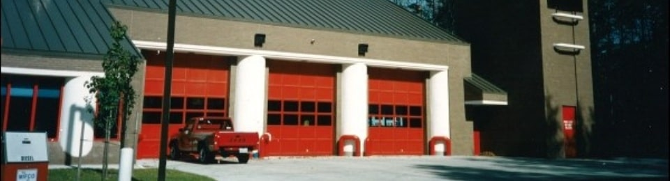 Fire Station Sectional Doors - Feature