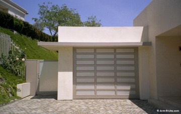 Insulation material of choice for overhead sectional garage doors: Polyurethane