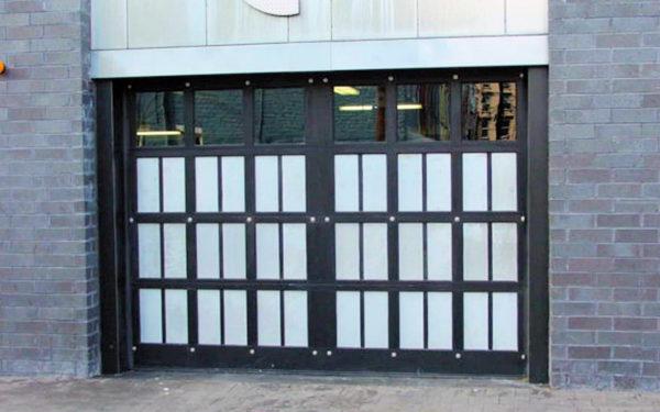 Aluminum Carriage House Garage Door