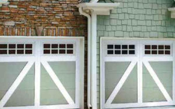 Country Carriage House Garage Door