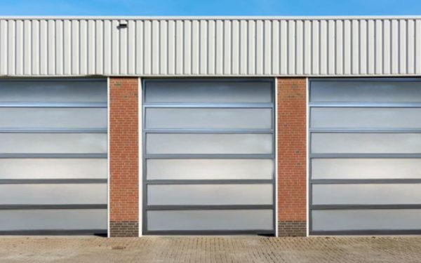 FibRGlass and Aluminum Garage Door